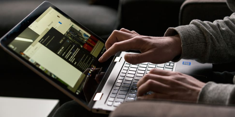 HP Spectre X360 13-inch in use