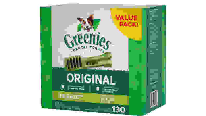 Greenies Teenie Dental Dog Treats, 130 count
