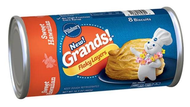 The best Pillsbury rolls sweet hawaiian grands