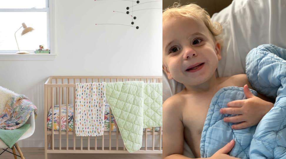 Brooklittles Baby Bundle / Toddler with Brooklinen Quilt