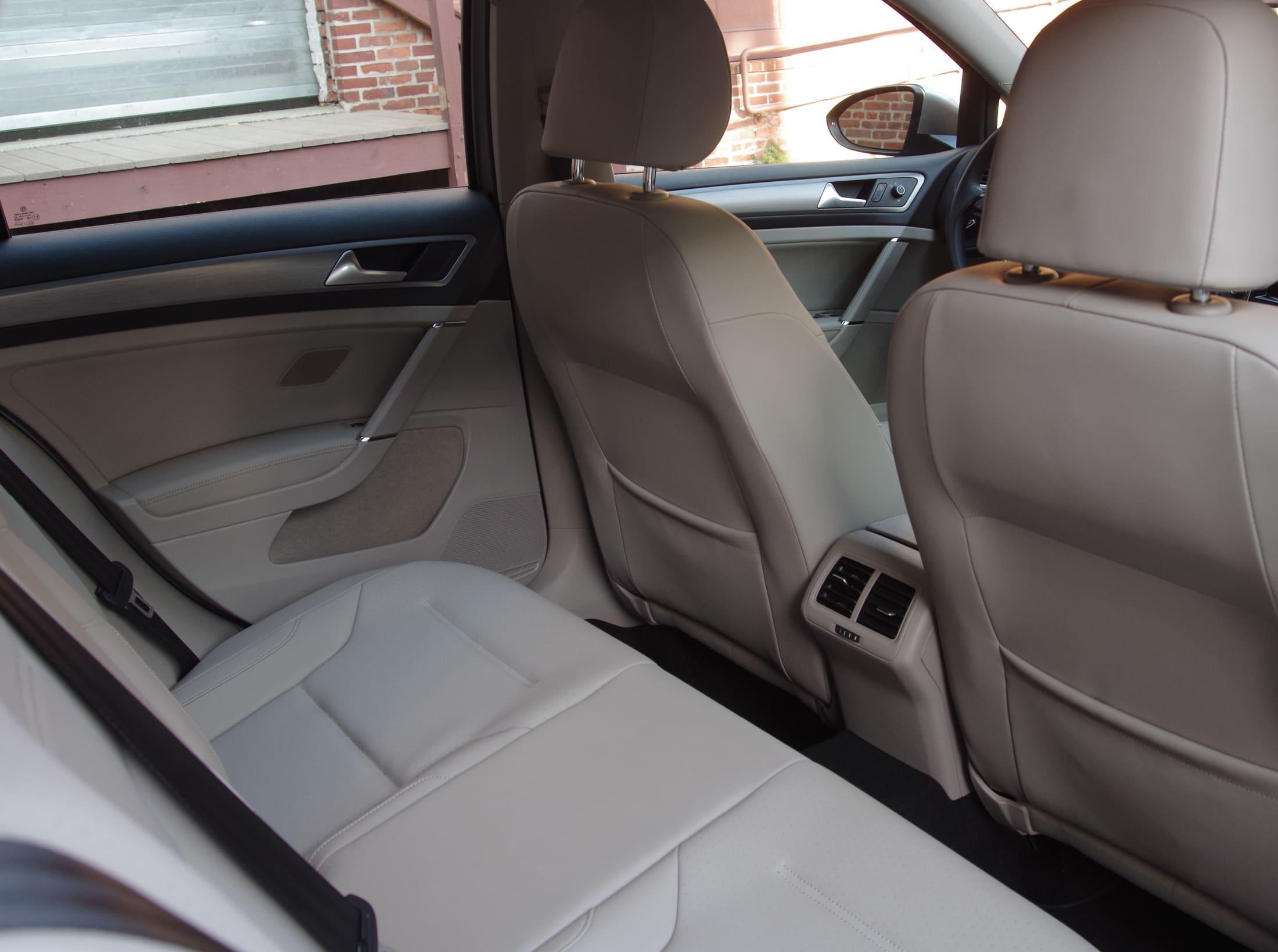 2015 VW Golf back seat