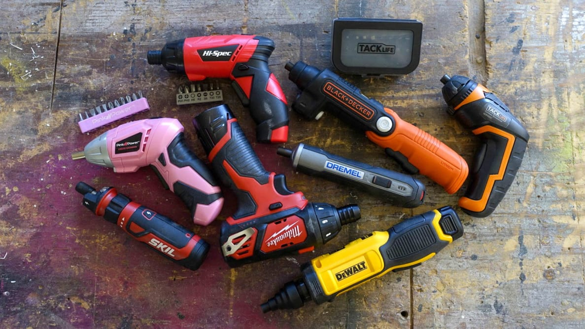 The best electric screwdrivers
