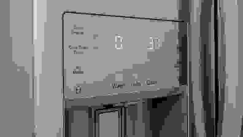 Frigidaire FG4H2272UF Temperatures