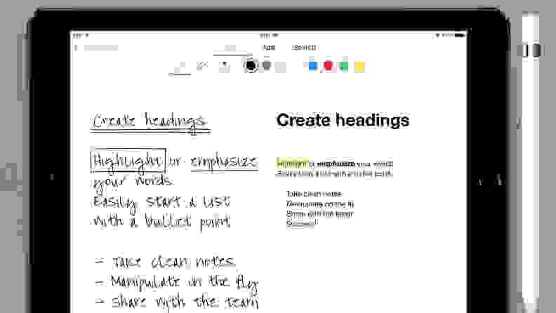 MyScript Nebo Note-Taking Chrome App