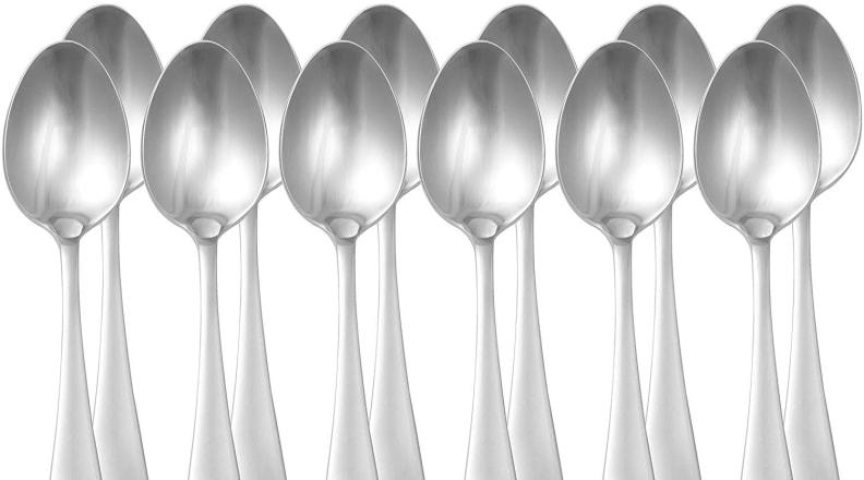 AmazonBasics Stainless Steel Dinner Spoons