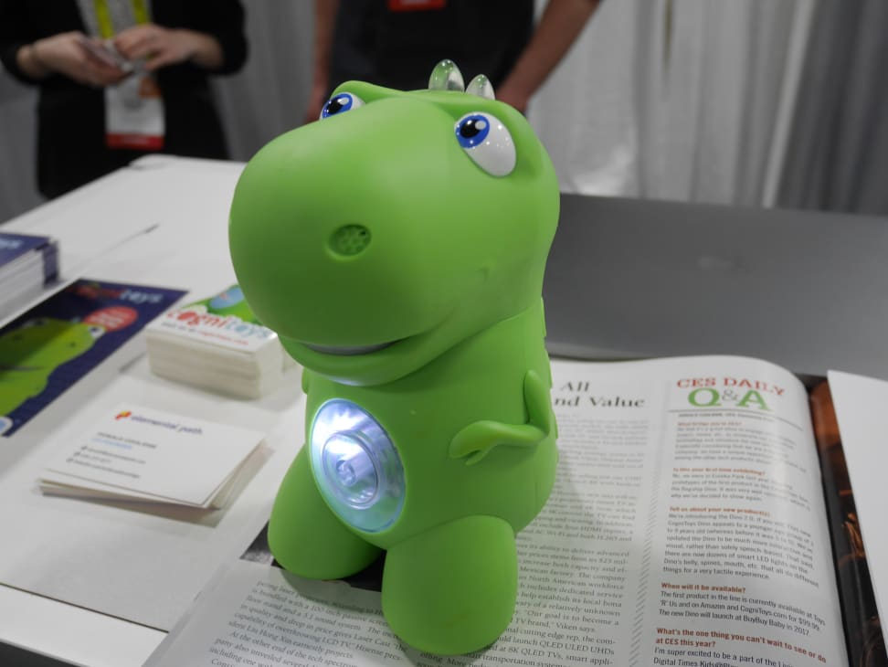 This smart toy tells fart jokes, answers questions, and more.