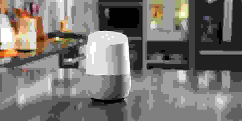 Google Home controlling various GE kitchen appliances