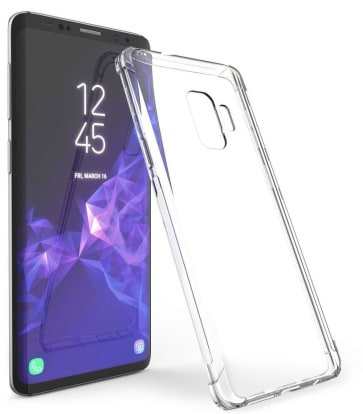 Product Image - CreativeApkep Clear Silicone Case (Samsung Galaxy S9)