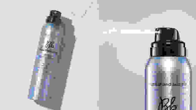 The Bumble and Bumble Thickening Dryspun Volume Texture Spray.