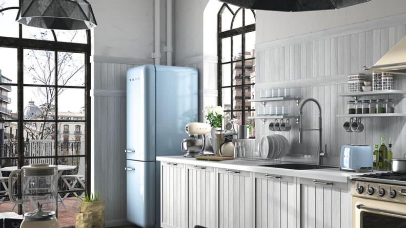 Smeg kitchen