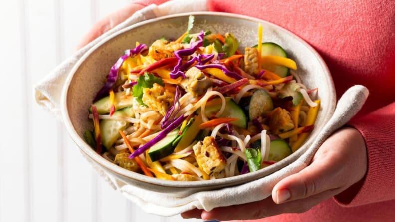 Sun Basket vegetarian bowl