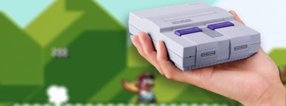 Nintendo snes classic hero