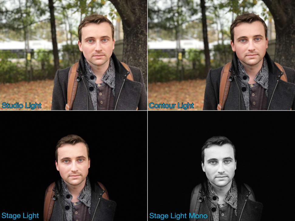 Apple iPhone X Portrait Mode Comparison