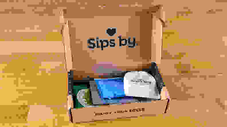 Sips by