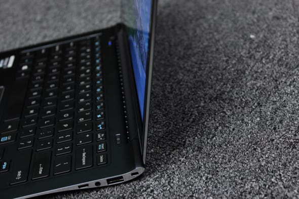 The ATIV Book 9 Plus is an incredibly thin laptop.
