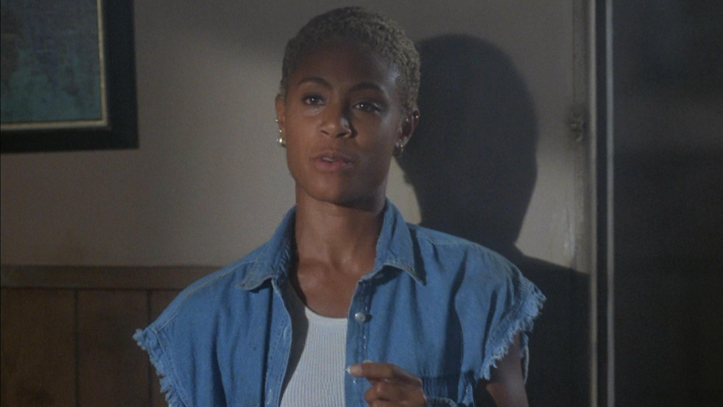 A young Jada Pinkett Smith saves the world in 'Demon Knight.'