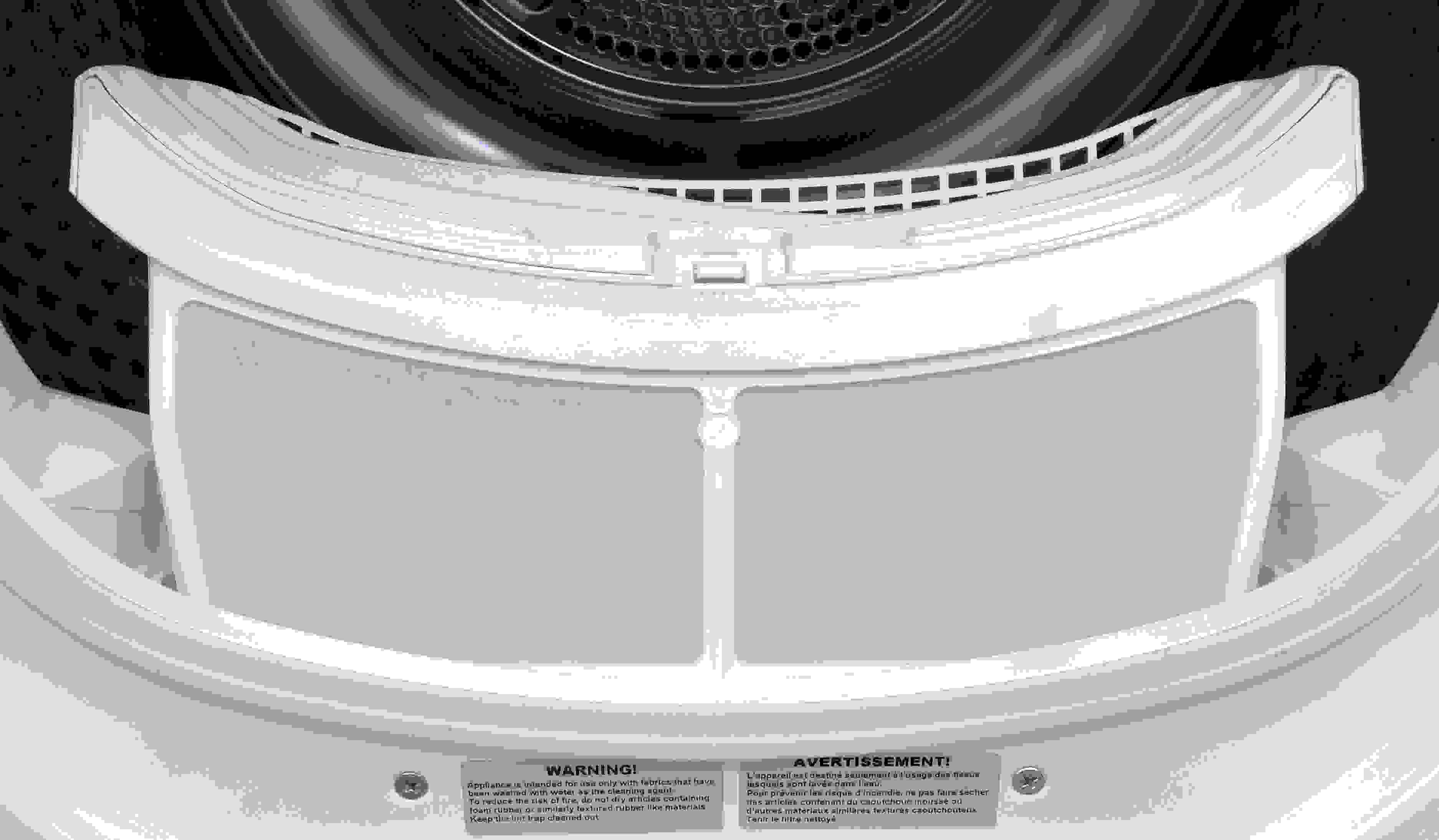As with most compact dryers, the Blomberg DHP24412W's primary lint trap is a cage instead of a screen.