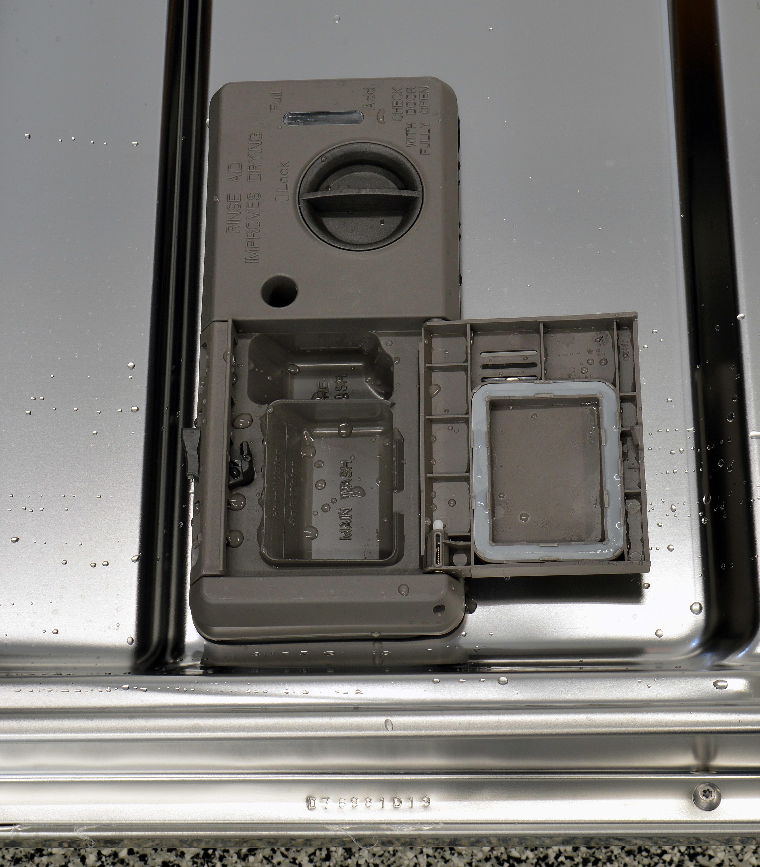 Maytag MDB4949SDM detergent and rinse aid dispenser