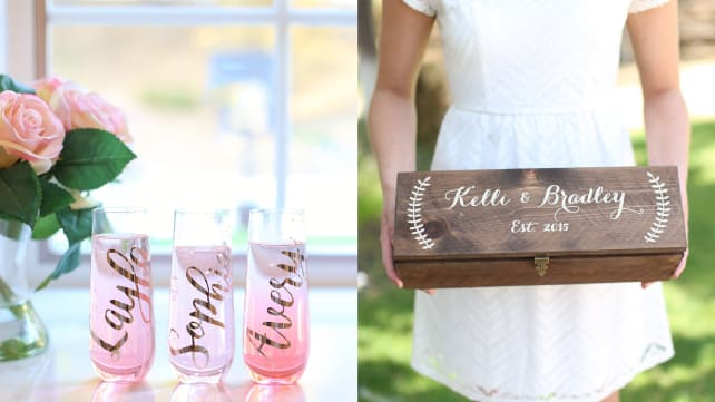 Customized Wedding Gifts