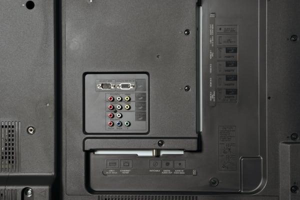 Sharp LC-60EQ10U ports