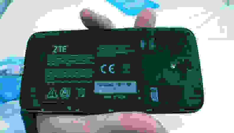 ZTE Grand X 3—Back