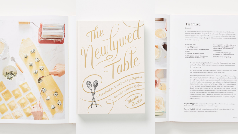 Best engagement gifts: Newlywed Cookbook