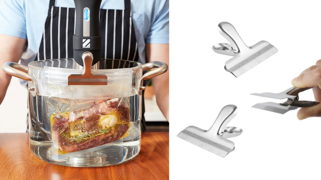 Sous vide - chip clips