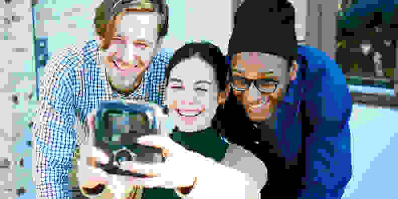 Instax Square SQ10 Selfie