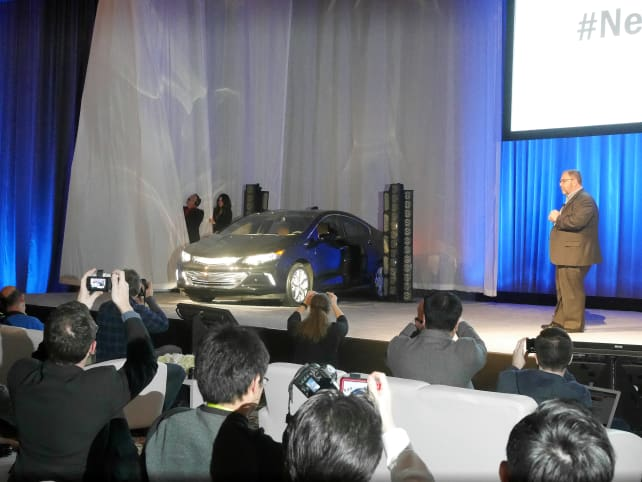 Chevy Volt Reveal