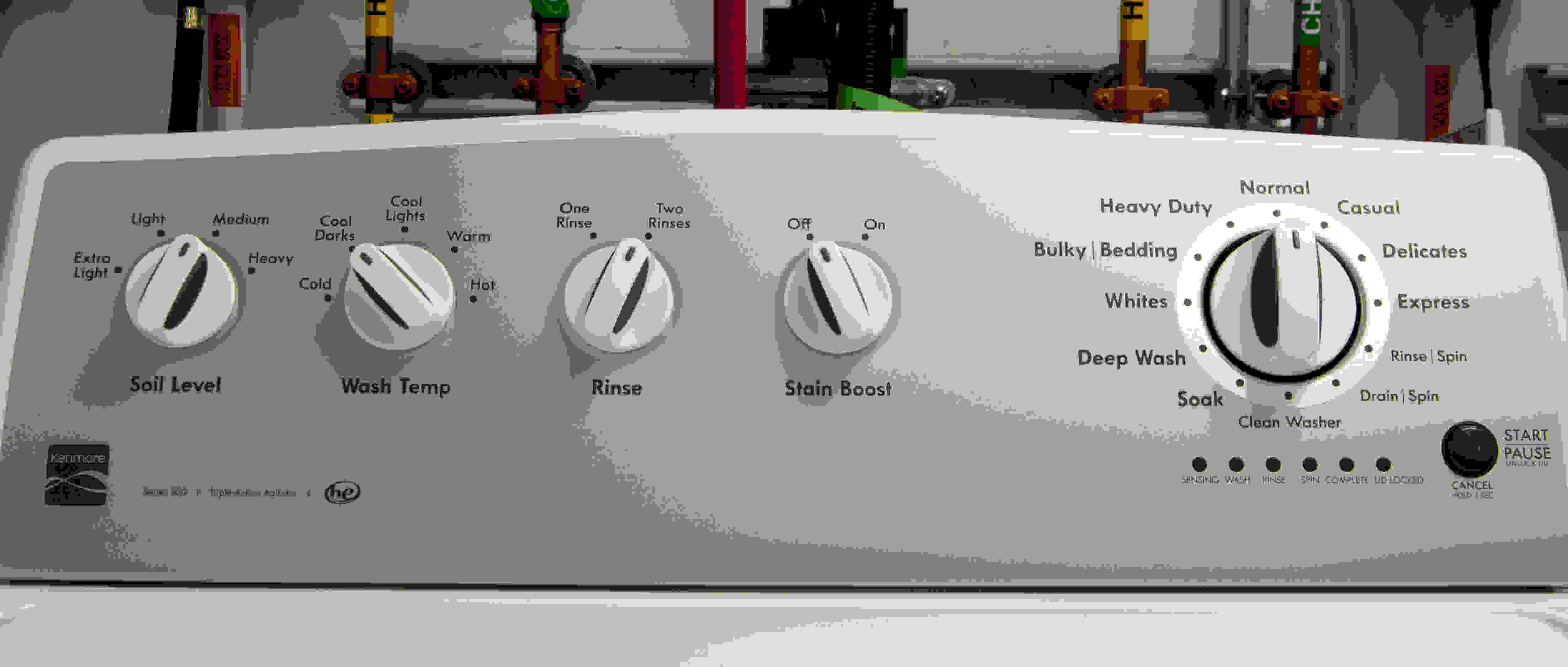 Old fashion controls that many will be familiar with