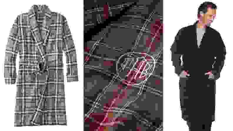 L.L.Bean flannel robes