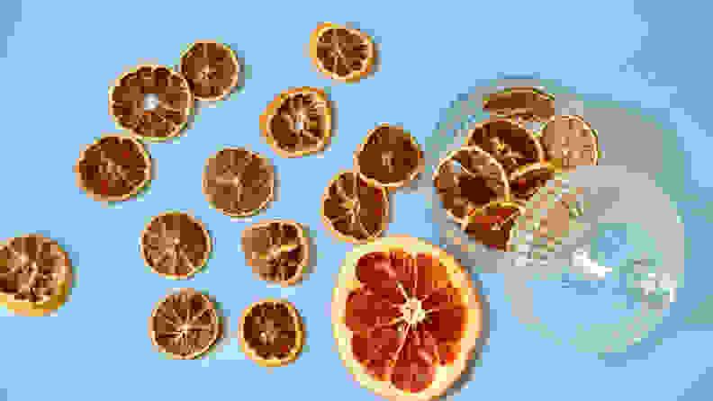 Dried citrus fruits
