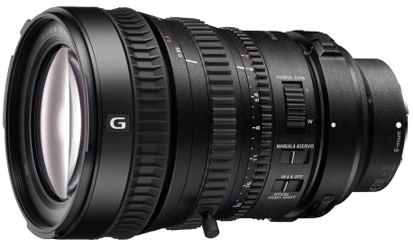 Product Image - Sony FE PZ 28-135mm f/4 G OSS Standard Zoom Lens