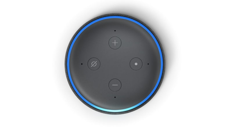 Echo Dot from top
