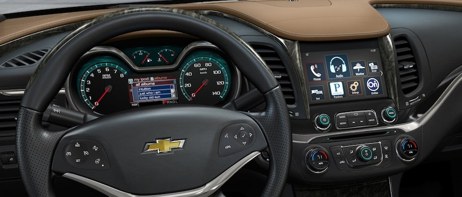 Chevy Impala Interior