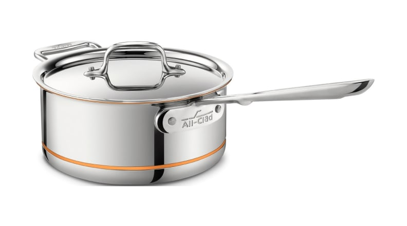 All-Clad 3-Qt. Sauce Pan with Lid / Copper Core