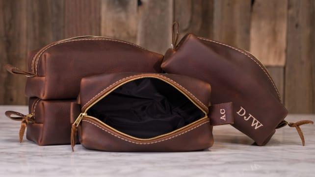 Leather Dopp Kits