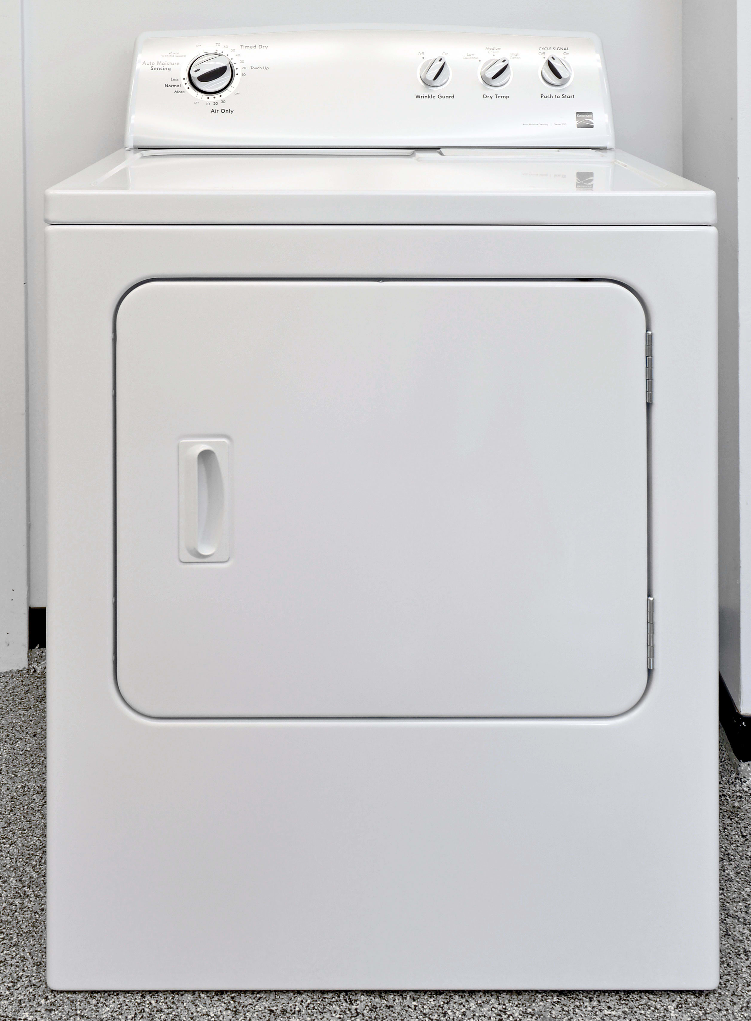 The basic 7.0-cu.-ft. Kenmore 62342 is visually neutral.
