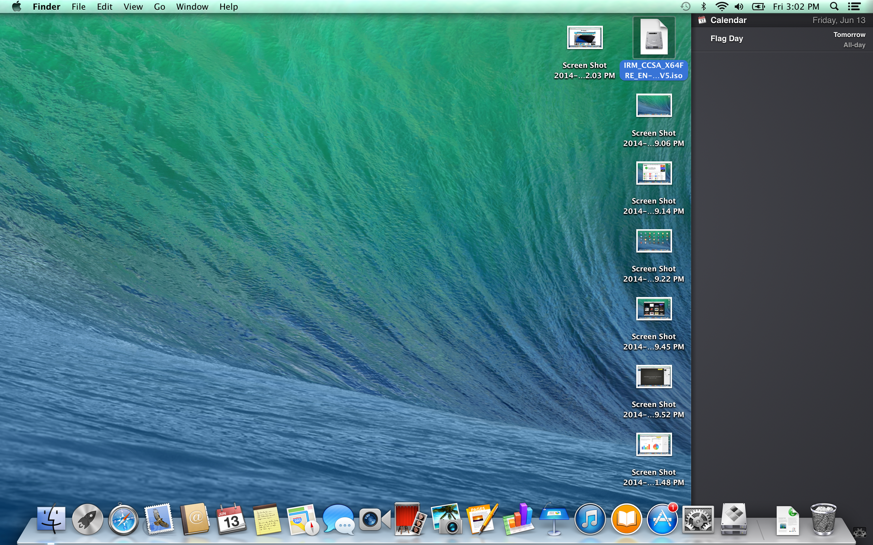 A screenshot of the Apple MacBook Pro with Retina Display's messages underlay.