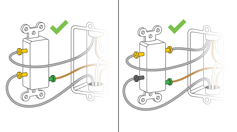 How to wire a light switch into your wall - Reviewed | Two Pole Switch Wiring Diagram |  | Reviewed