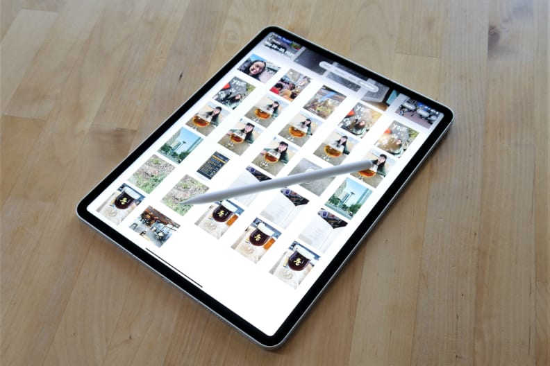 Apple iPad Pro 2021 photo library