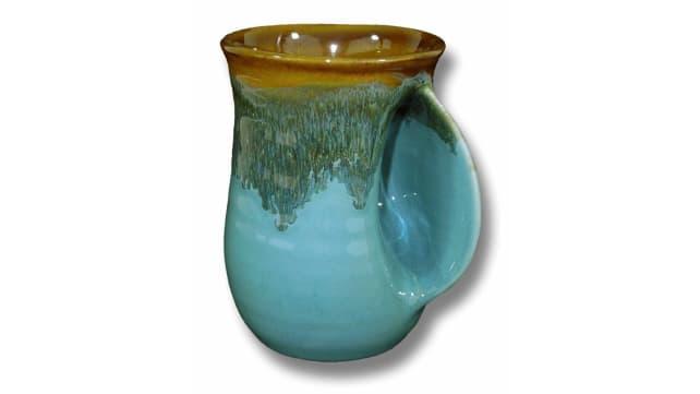Clay in Motion Handwarming Mug