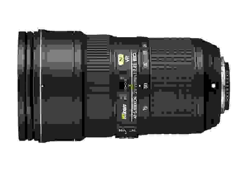 24-70mm f/2.8E ED VR II Side