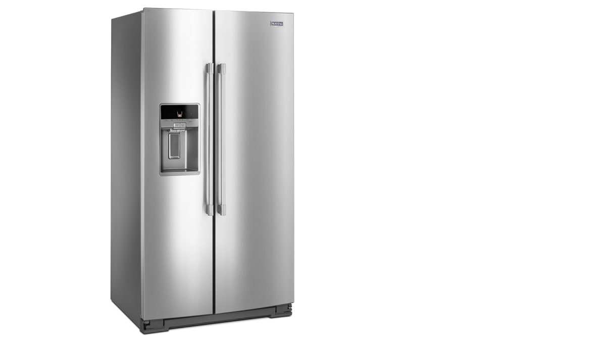 Maytag MSS26C6MFZ Side-by-Side Refrigerator Review - Reviewed.com ...
