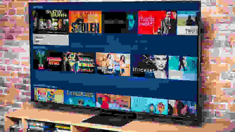 Samsung Q90T QLED TV Smart Platform