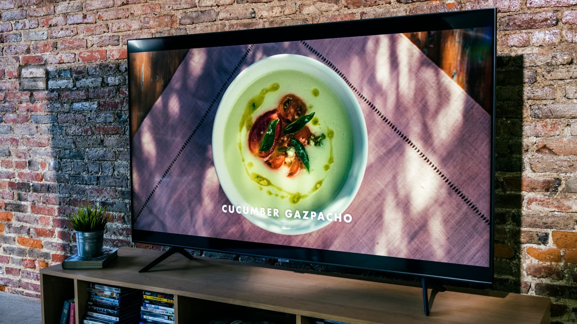 The 65-inch Samsung Q60T