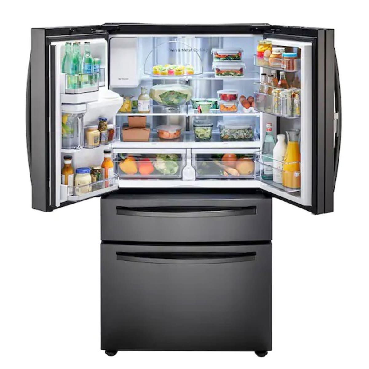 Samsung Rf28r7351sg French Door Refrigerator Review Reviewed