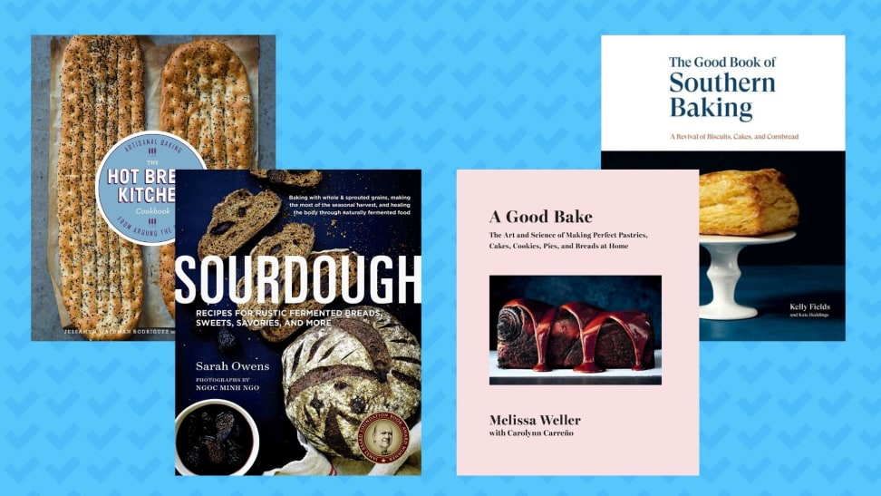 These are the best cookbooks for bread baking.