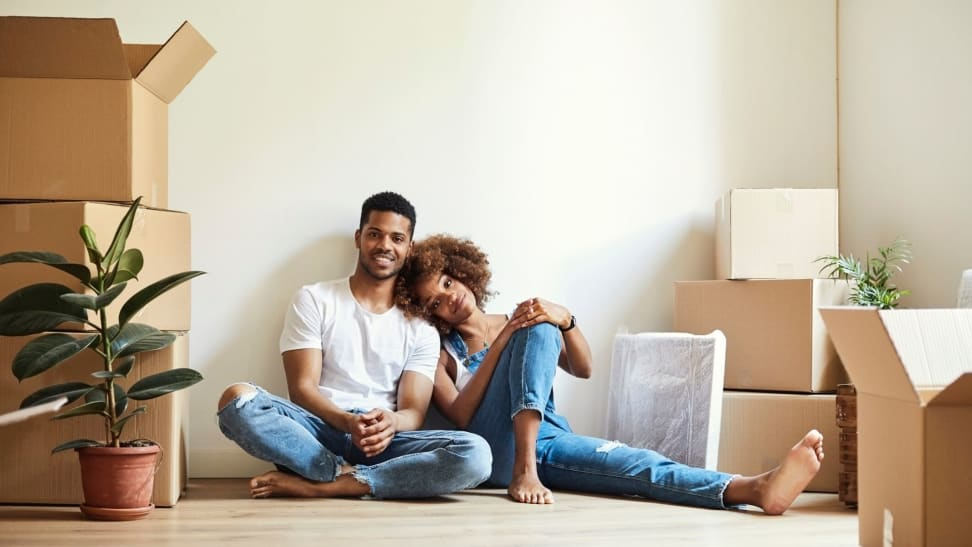 Couple opens joint bank account after moving in together