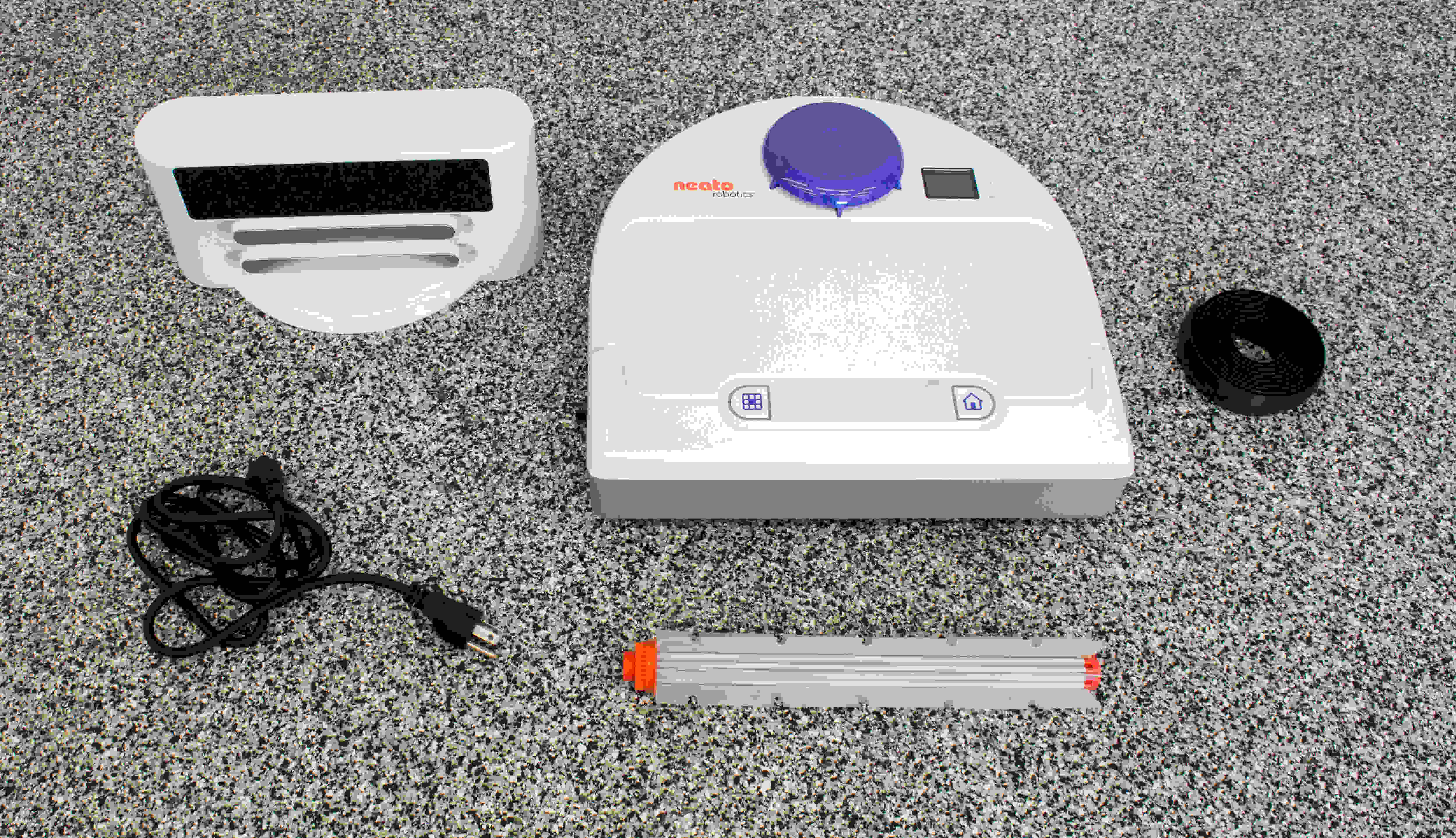 The Botvac 80 has fewer accessories than other robot vacuums.
